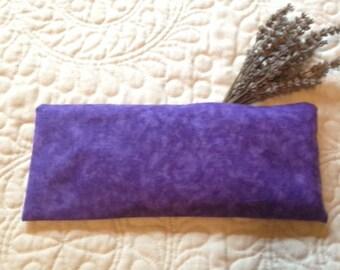 Lavender &  Organic Flax Seed Eye Pillow