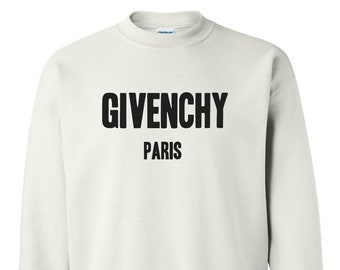 Givenchy Paris Crewneck Sweatshirt  a9a7a4c135