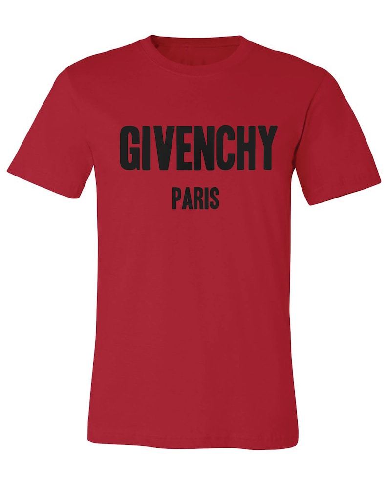 50482d12dd5 Givenchy Paris T Shirt Givenchy Tee Unisex T-shirt Best
