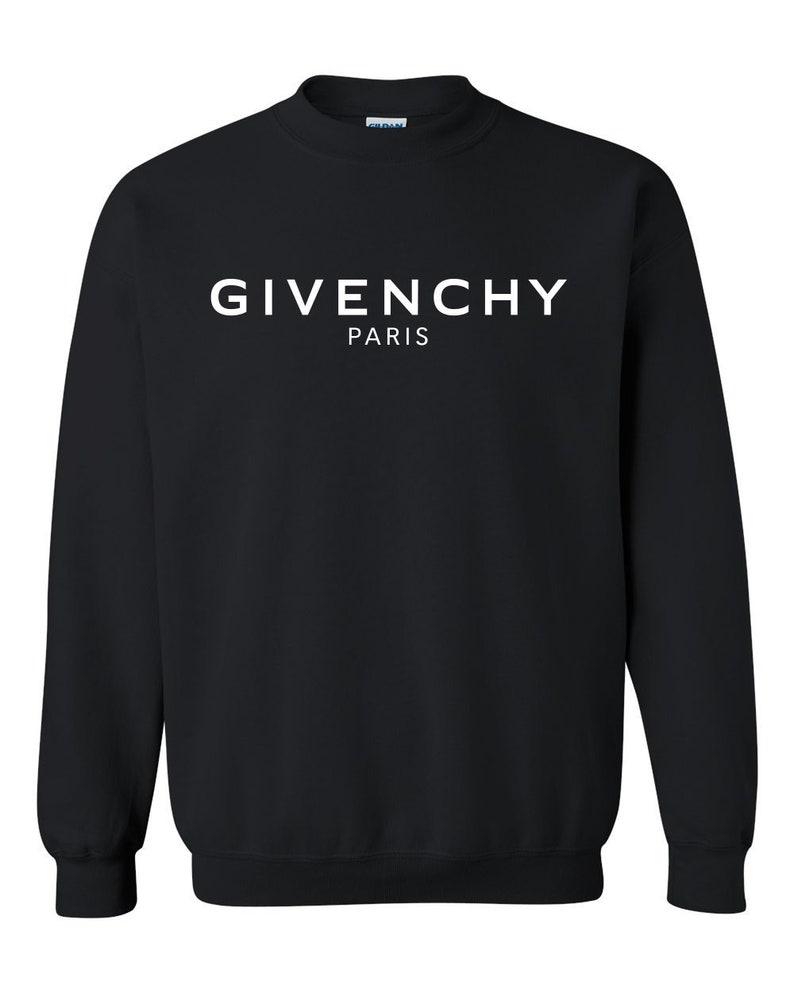 Givenchy Paris NEW Crewneck Sweatshirt Givenchy Pullover  9e456c1de24b