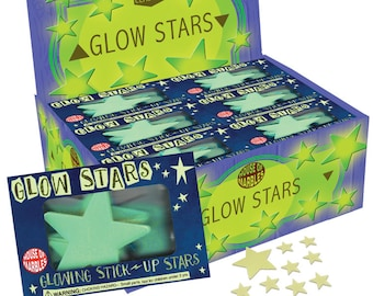 Party favor,Glow Stars,Glow Decoration for kids room