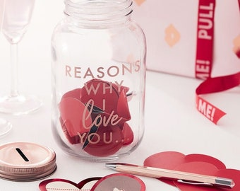 I Love You Jar Etsy