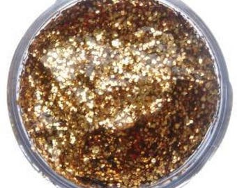 Snazaroo Glitter Gel,face and body paint,Shiny gold Snazaroo glitter gel