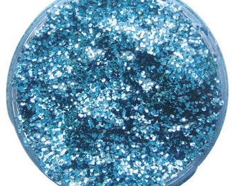 Snazaroo Glitter Gel,face and body paint,Sky blue  Snazaroo glitter gel