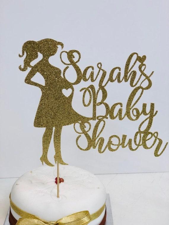 Baby Shower Baby Cake Topper