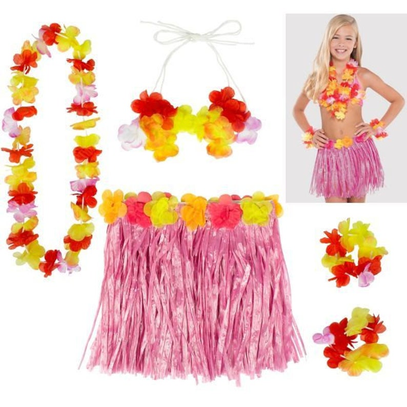 Hawaiian Party Decor Hawaiian Hibiscus Mini Foil Cascade Centrepieces Summer Party Decorations Tropical Party Decor Party Decorations