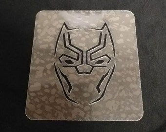Black Panther Paint Etsy
