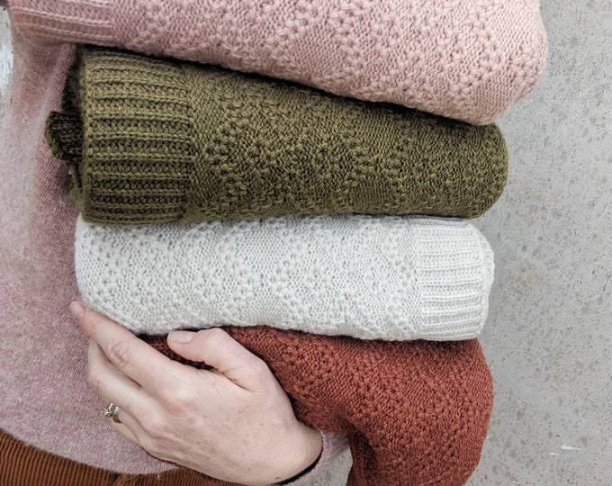 Featured listing image: JUNIPER Merino Wool Blanket