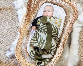 WATTLE baby blanket