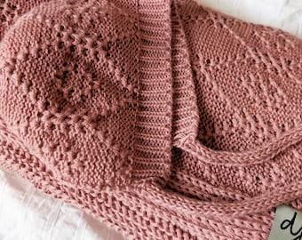 ALDER cotton cashmere bonnet