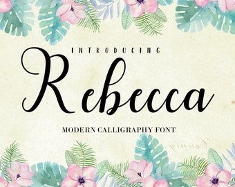 75% OFF SALE Calligraphy Font Digital download font Handwritten font download creative design modern calligraphy Font wedding craft font