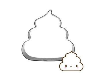 Cute Poop Cookie Cutter