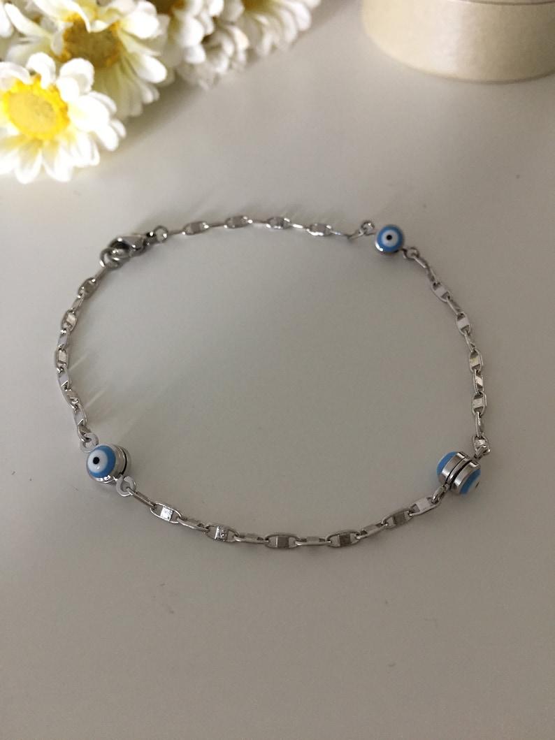 evil eye charm bracelet adjustable bracelet nazar bracelet evil eye jewelry evil eye bracelet turkish evileye bracelet silver evil eye