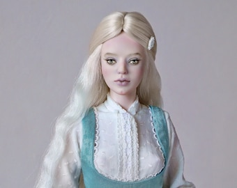 Porcelain bjd doll Veronica, OOAK doll, Ball jointed doll