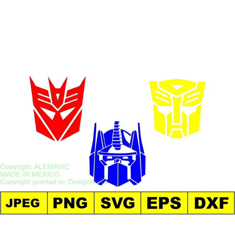 cbcb16865feacd Transformers Megatron Optimus Prime Collection svg dxf eps