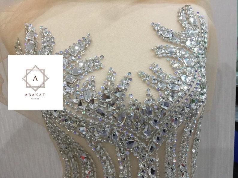 Grande taille corsage applique des bijoux robe patch full etsy