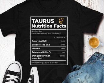 Taurus shirt | Etsy
