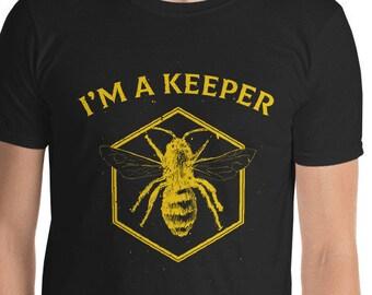 dd55028b5 Beekeeper T Shirt Bee Keeper Shirt Bee Shirt I'm A Keeper T-Shirt Hive Shirt  Bees Lover Gifts Beekeeper Grandpa Husband Beekeeper Dad Gifts