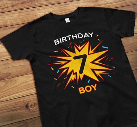 7th Birthday Seventh Shirt