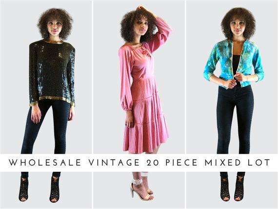 Women's Vintage Clothing Lot • Bulk Vintage 20 Pie