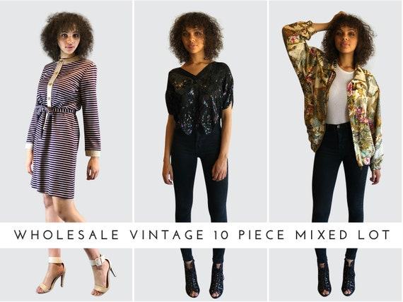 Women's Vintage Clothing Lot • Bulk Vintage 10 Pie
