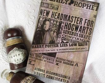 Harry Potter/Severus Snape wooden box