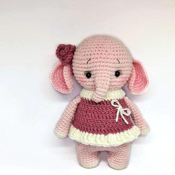 Amigurumi pattern, crochet elephant pattern | 570x570