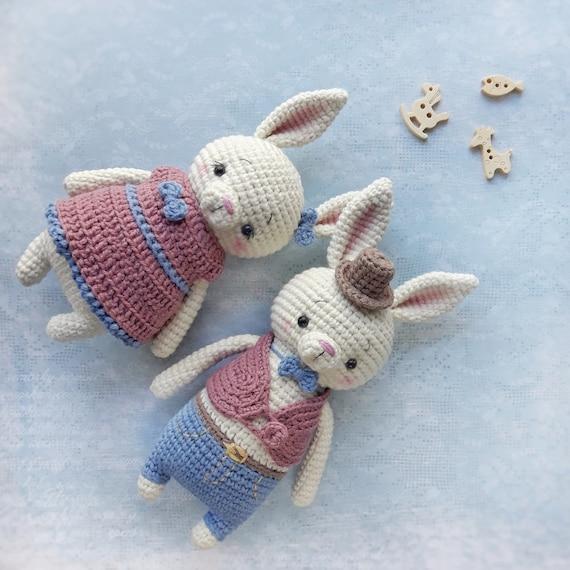 Amigurumi Pattern Crochet Bunny Pattern Crochet Pattern Etsy Stunning Crochet Rabbit Pattern