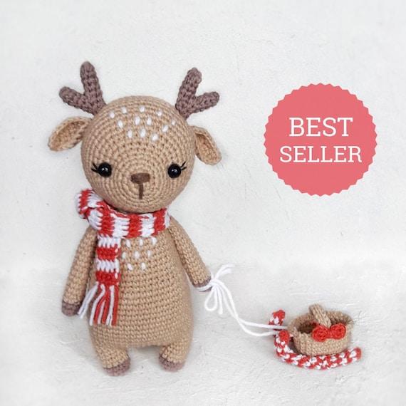 Amigurumi deer Marley crochet tutorial   Amiguroom Toys   570x570