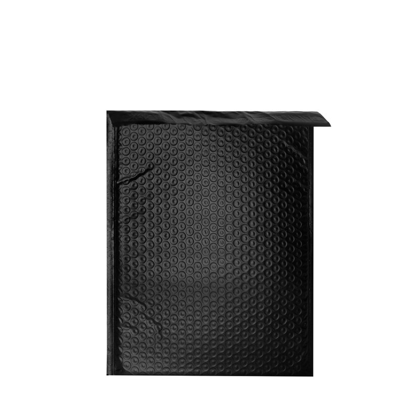 50 Pack #4 9.5x14.5 Black Poly Bubble Mailers Padded Mailing Envelope Shipping Bags 9.5 x 14.5