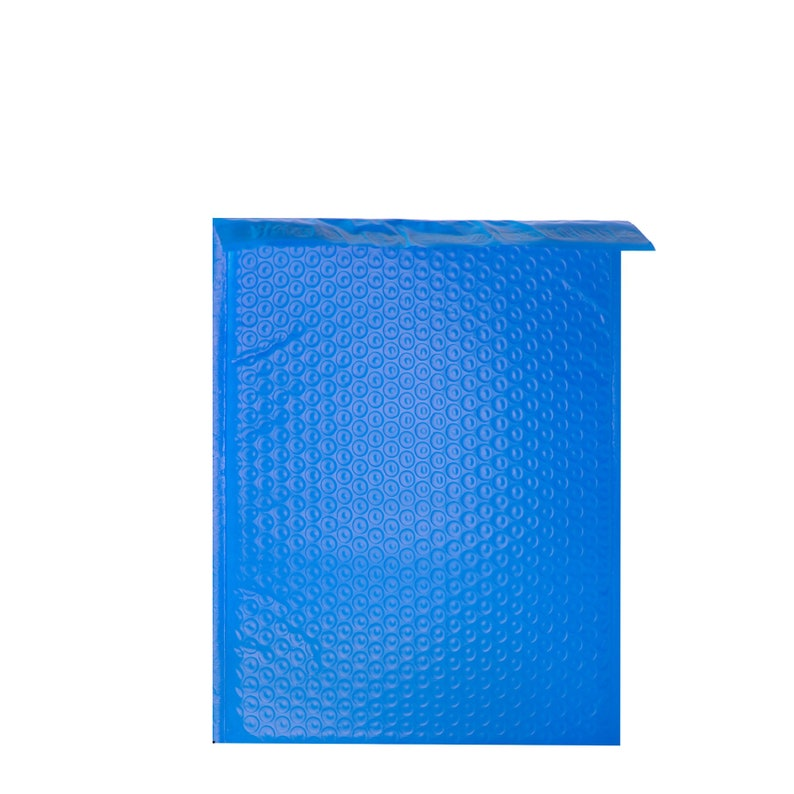 300 Pack #5 10.5x16 Blue Poly Bubble Mailers Padded Mailing Envelope Shipping Bags 10.5 x 16