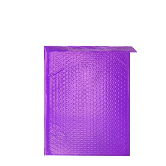10 Pack #1 7.25x12 Blue Poly Bubble Mailers Padded Mailing Envelope Shipping Bags 7.25 x 12