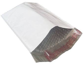 """100 #0 6x10 White Poly Bubble Mailers Padded Envelope Shipping Bags 6"""" x 10"""""""