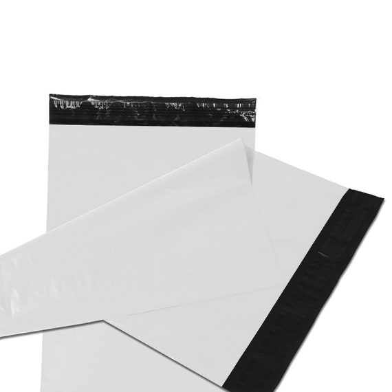 50 QTY #5 12x15.5 POLY MAILERS SHIPPING ENVELOPE BAGS!!