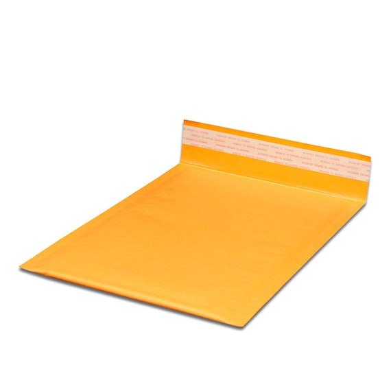 """Pack of 25 #4 9.5/""""x13/"""" Self Seal Kraft Bubble Mailers Envelopes Padded"""