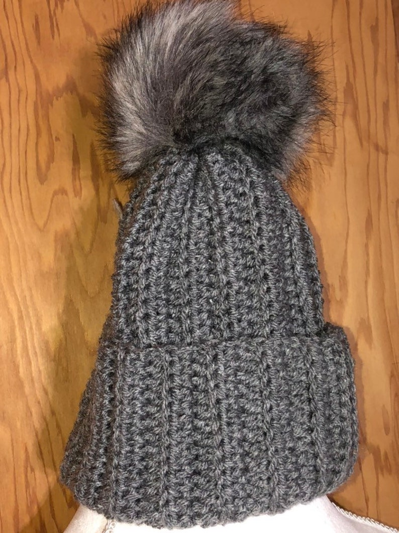 Winter Crochet Hat Trendy Hat