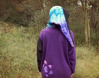 Psychedelic sweatshirt psytrance clothing