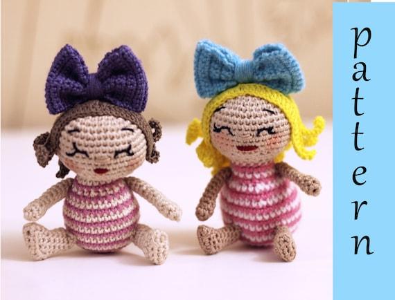 Crochet doll PATTERN, AMIGURUMI pattern, amigurumi doll pdf ... | 434x570