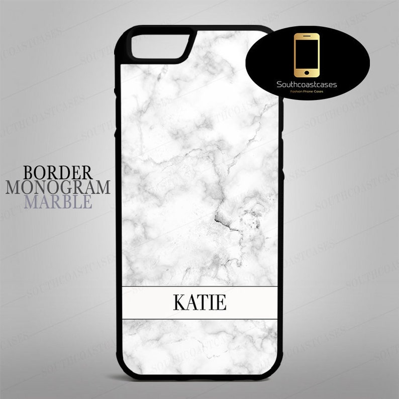 cheap for discount 1f813 e2c90 Off White Marble Effect Personalised Name Banner Phone Case Personalized  Custom Cover iPhone 4s, 5c, 5/5s/Se, 6/6, 6+, 7, 7+, 8, 8+ and X
