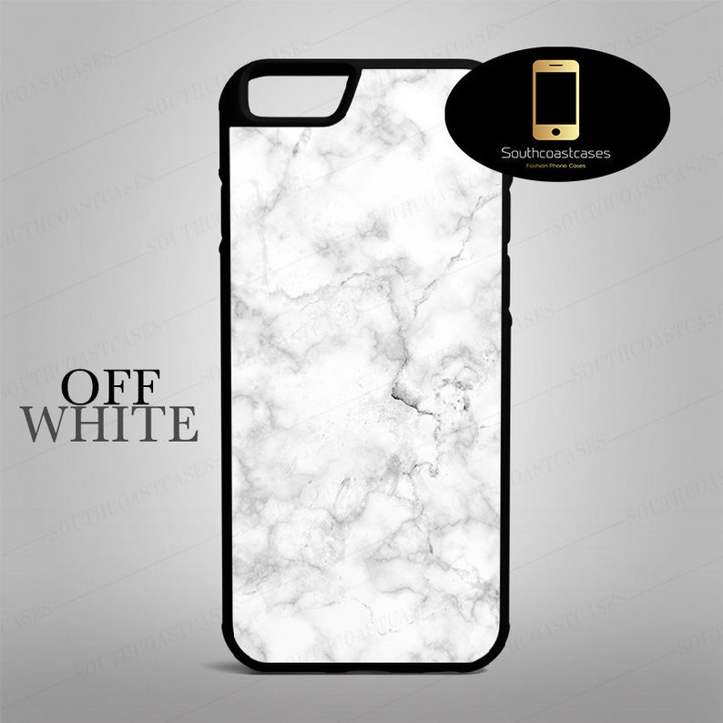 on sale 8346a 43905 Off White Grey Marble Effect iPhone Cell Phone Case Cover For iPhone 4/4s,  5c, 5/5s/Se, 6/6, 6 Plus, 7, 7 Plus, 8, 8+ and X