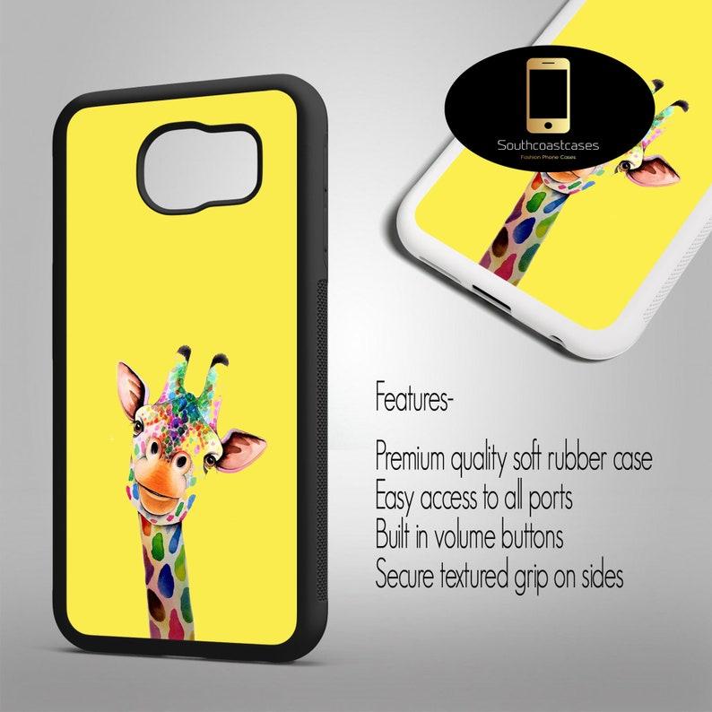 Cartoon Art Quality Rubber Phone Case