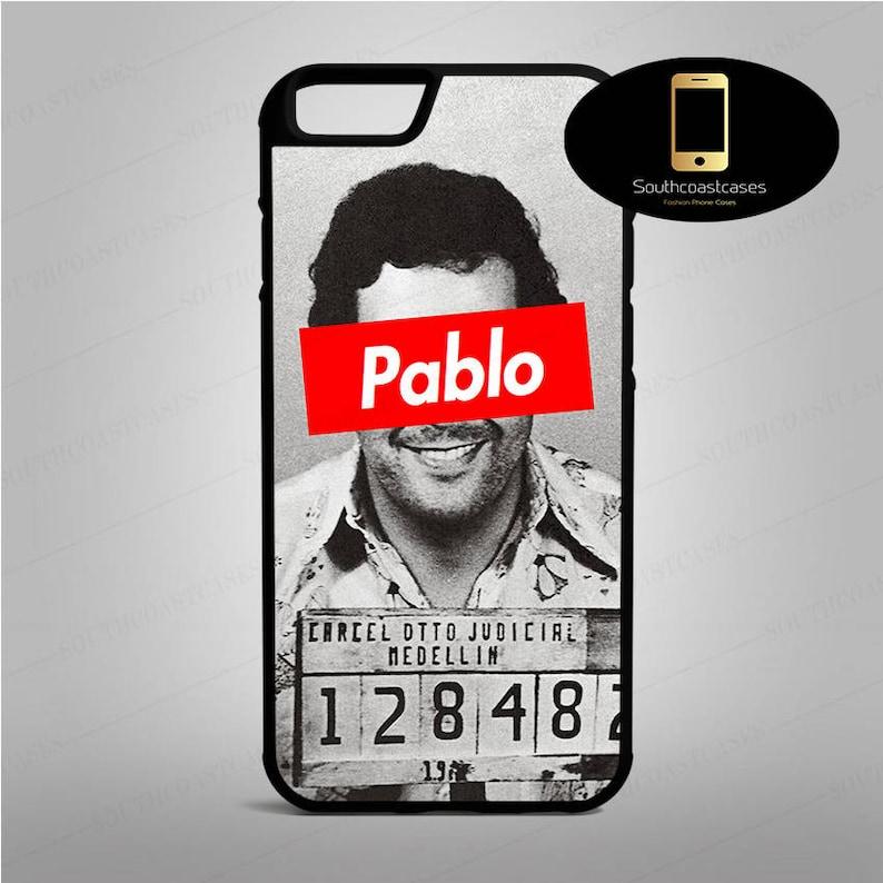 sale retailer da71d aad8e Pablo Escobar Mugshot Supreme Parody Columbian Drug Kingpin iPhone Rubber  Phone Case Cover For iPhone 4/4s, 5c, 5/5s/Se, 6/6, 7, 8 and X