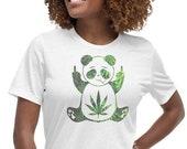 Stoned Panda Baked Zoo Animals Women 39 s Relaxed T-Shirt