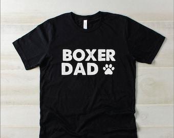 3fd68f044 Mens Boxer Dad Shirt | Pet Lover TShirt, Funny Dog Shirt, Gift for boxer dad,  dog dad, dog father, mens dog t-shirt, gift for dog lovers
