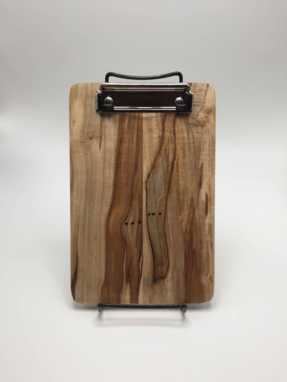 Handmade ambrosia maple clipboard etsy