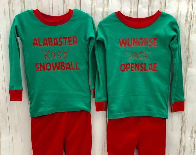 Personalized/Custom Christmas Jammies