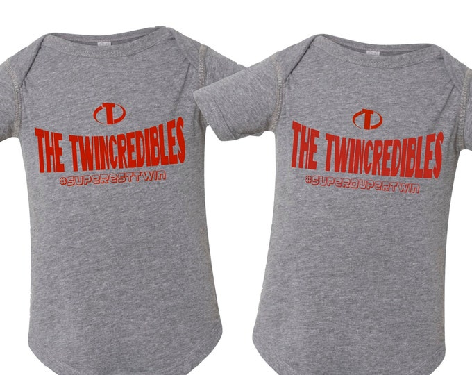 The Twincredibles Bodysuit