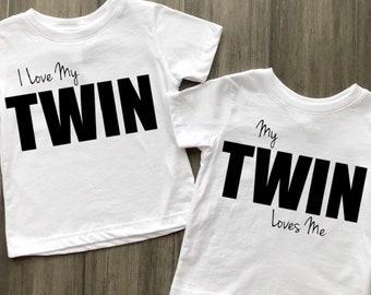 I LOVE MY TWIN | MY TWIN LOVES ME