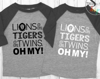 LIONS, TIGERS, TWINS, Oh My!
