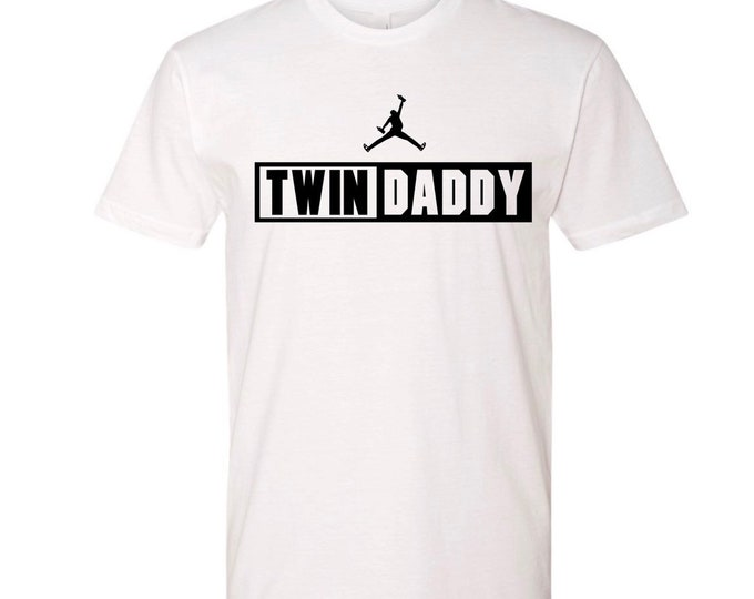 Twin Daddy Shirt | Twin Dad Father's Day Gift | Dad of Twins Gift